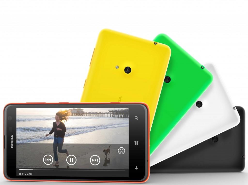 Nokia lumia 625 display