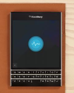blackberry passport asisstant