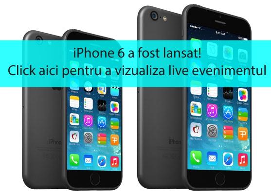 iphone 6 lansat