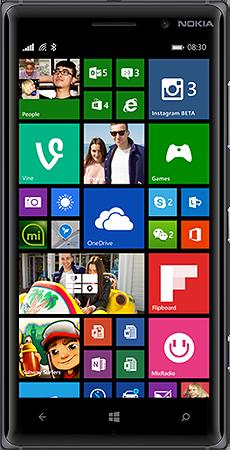 5.Lumia 830 ecran