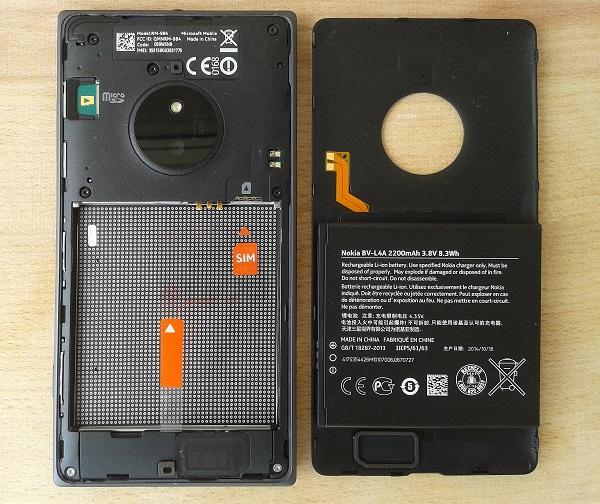 9.Poza Lumia 830 incarcare wireless