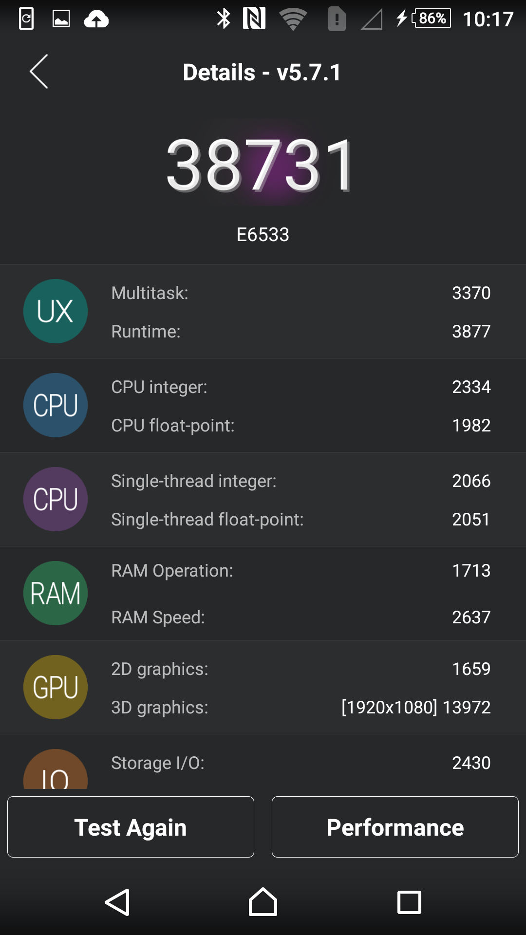 11Poza Sony Xperia Z3+ test v2