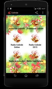 1.Poza Aplicatie Colinde de Craciun v1