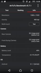 19.Poza XPERIA Z5 Test V6
