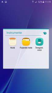 10.Poza Samsung Galaxy A5(2016) aplicatii instrumente