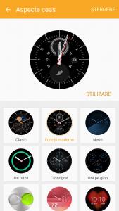 7.Poza Gear S2 Clasic Meniu fete ceas