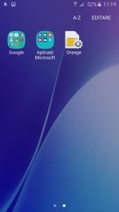 7.Poza Samsung Galaxy A5(2016) aplicatii p2