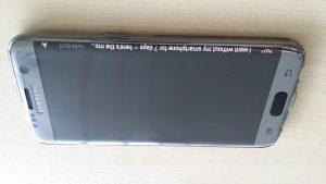 13.Poza Galaxy S7 EDGE ecran activ notificari
