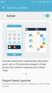 19.Poza Galaxy S7 EDGE lansator jocuri restrictii