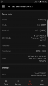 30.Poza Galaxy S7 EDGE teste v3
