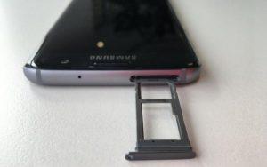 5.Poza Galaxy S7 EDGE rama superioara
