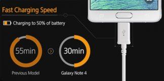 samsung galaxy note 4 update pentru baterie