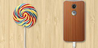 Motorola Moto X 2nd gen lillipop