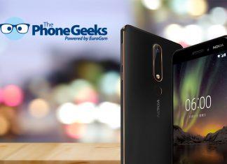 smartphone nokia 6.1.