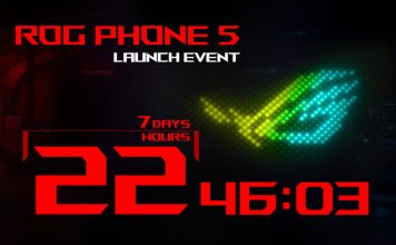 Asus Rog Phone 5 Eveniment
